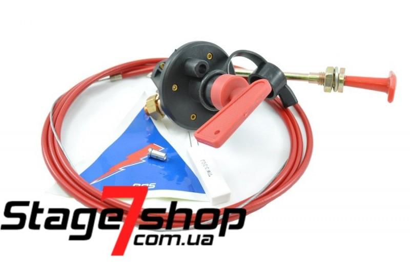 Выключатель массы 6-ти контактный, с ключем + трос выключения электрических цепей RRS