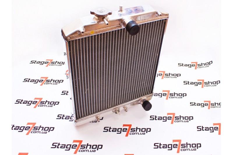 Радиатор охлаждения 2х рядный Honda Civic 1992-2000
